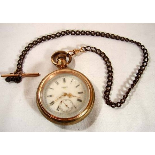 An antique Eglin pocket watch.