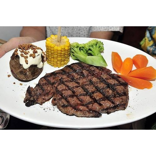 Cook Angus Beef Steak