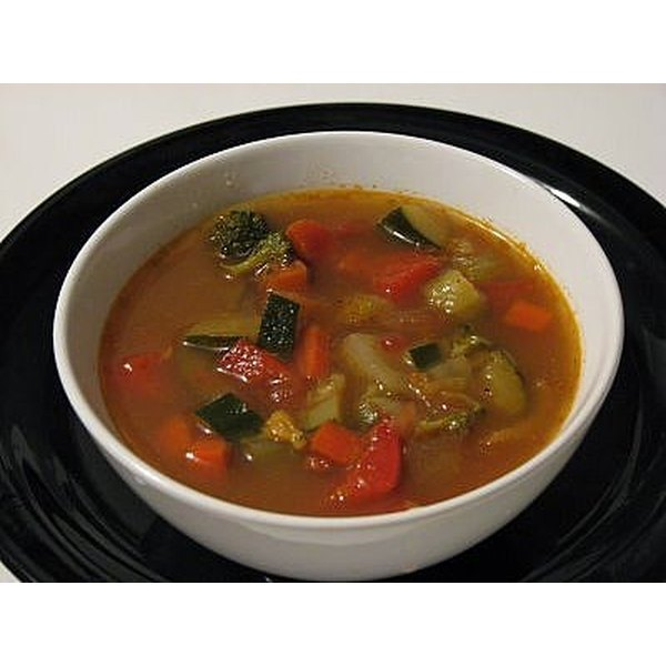 Make Vegetable Soup From Scratch