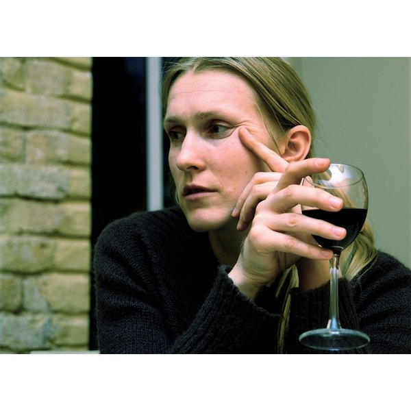 Facial Skin Problems Related to Alcohol