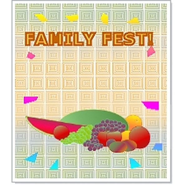 Family Fest Flyer  Family Reunion Flyer