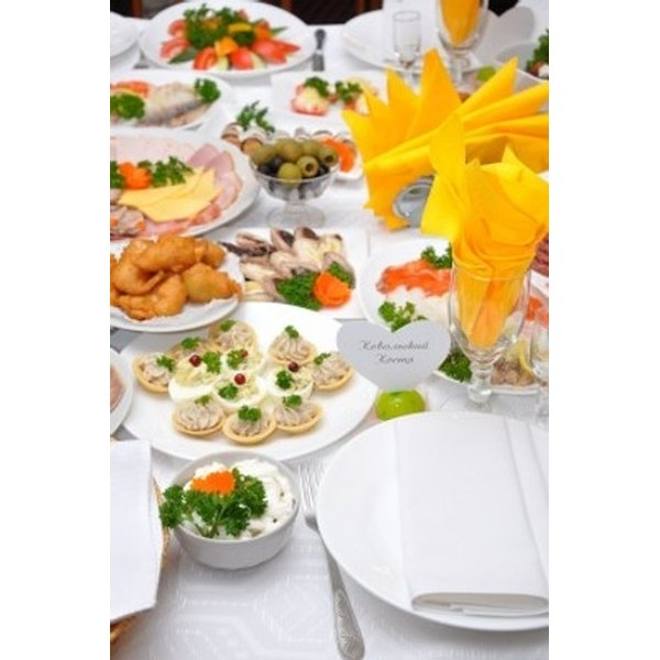 Wedding Reception Buffet Food Ideas: Ideas For A Wedding Reception Buffet