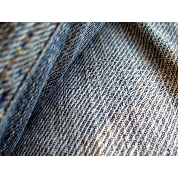 Grain line in jeans