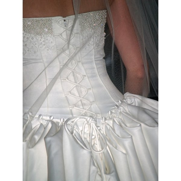 Bustles are essential in preserving your wedding gown.