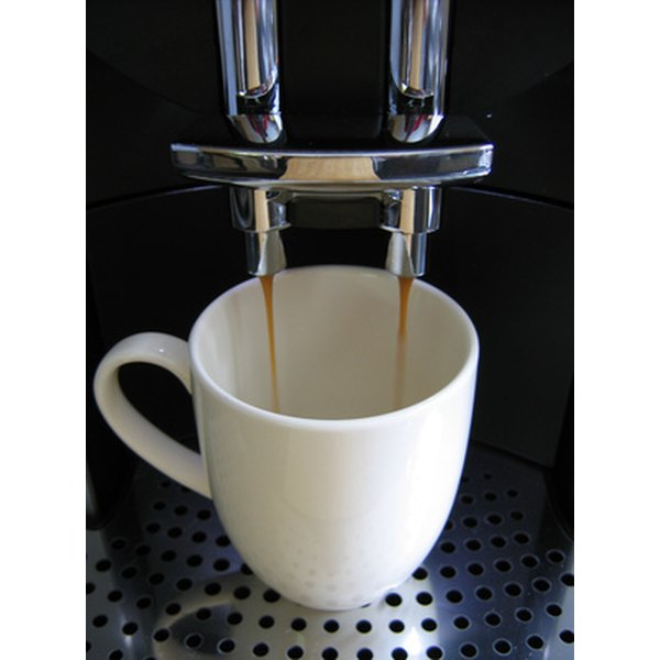Regularly descale your Gaggia coffee machine to avoid a harmful build-up of limescale.