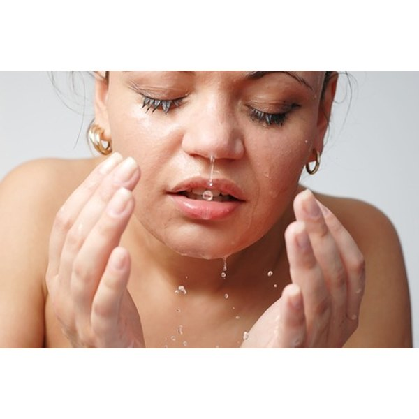 A skin care routine can help minimize the appearance of open pores.