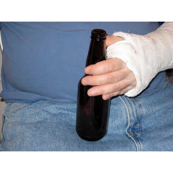 Frequent alcohol consumption increases belly fat.