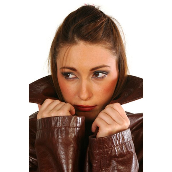 Leather jackets range from sporty to sassy.