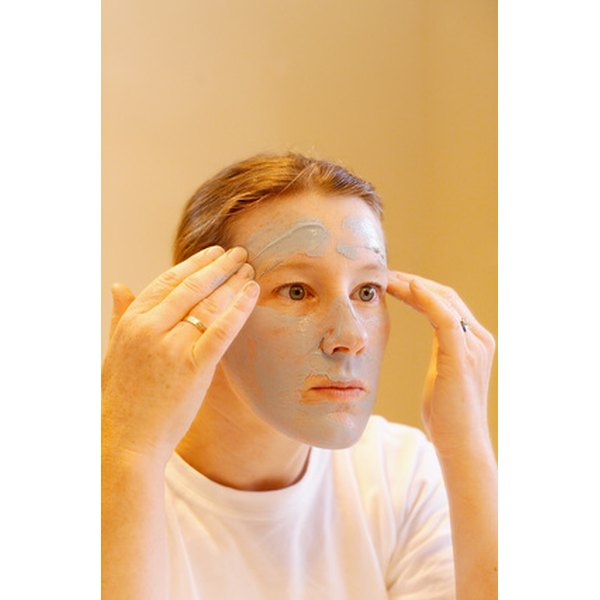 Save money with a homemade facial mask.