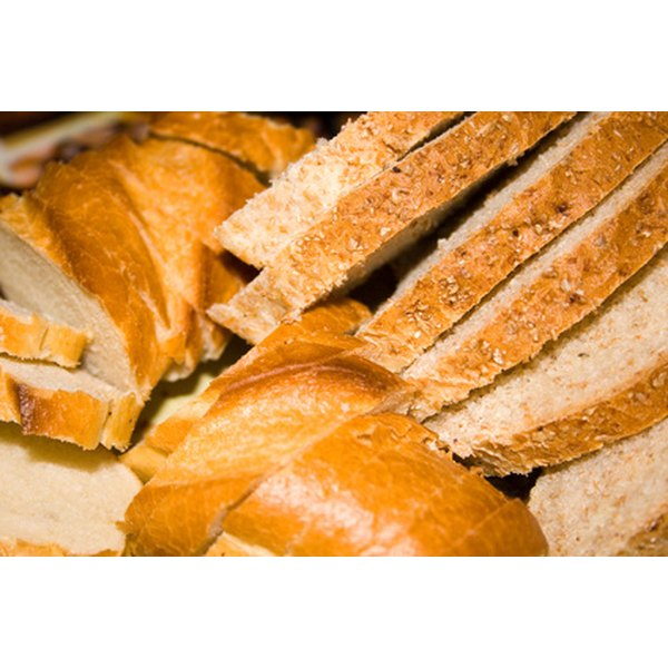 Eating bread alone provides insufficient vitamins and minerals.