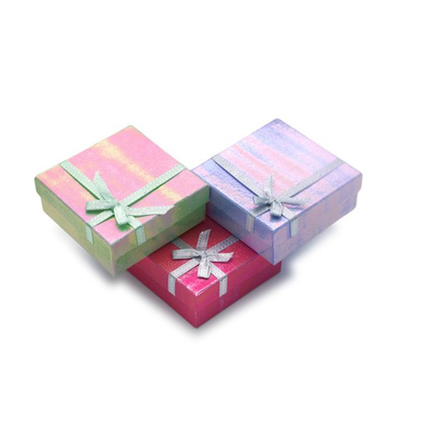 Assemble your own gift box for that personal touch.