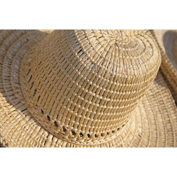 Knowing how to shape your straw hat will help it last longer.