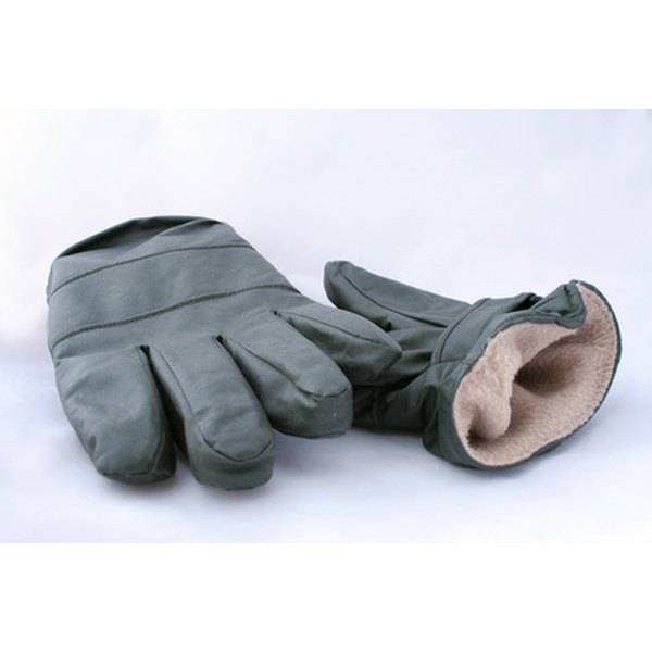 You can stay warm throughout the winter with a pair of microwave-heated gloves.