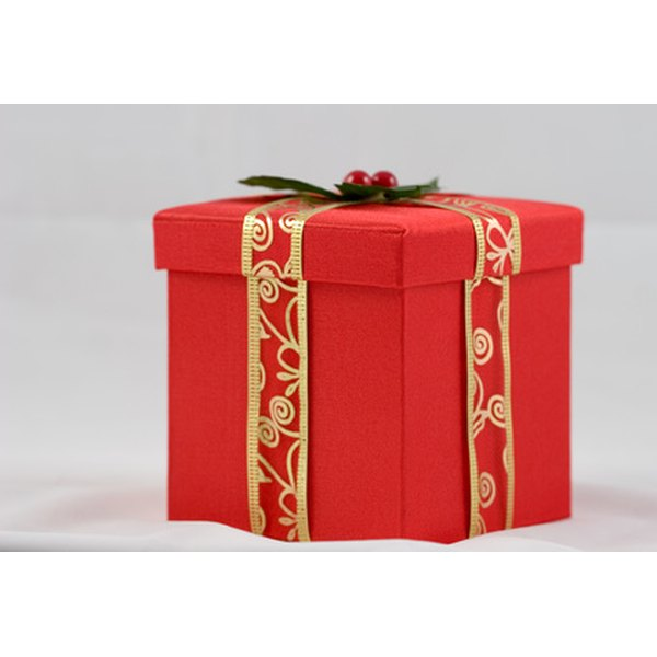 Gifts in China should be carefully wrapped, preferrably in red.