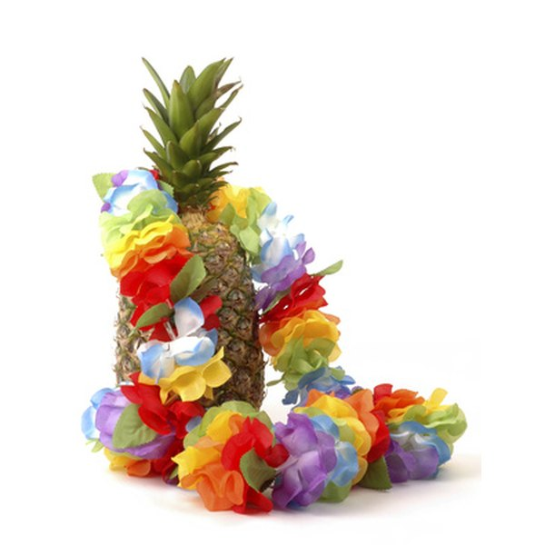 Purchase extra lei for guests and for decorating.