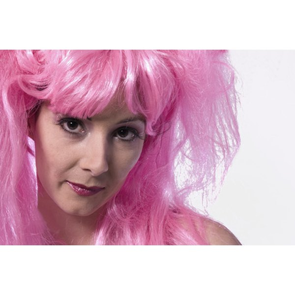Wear a wig cap beneath a wig for added security.