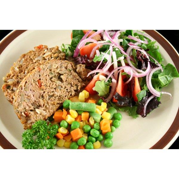 Serve meatloaf for dinner.
