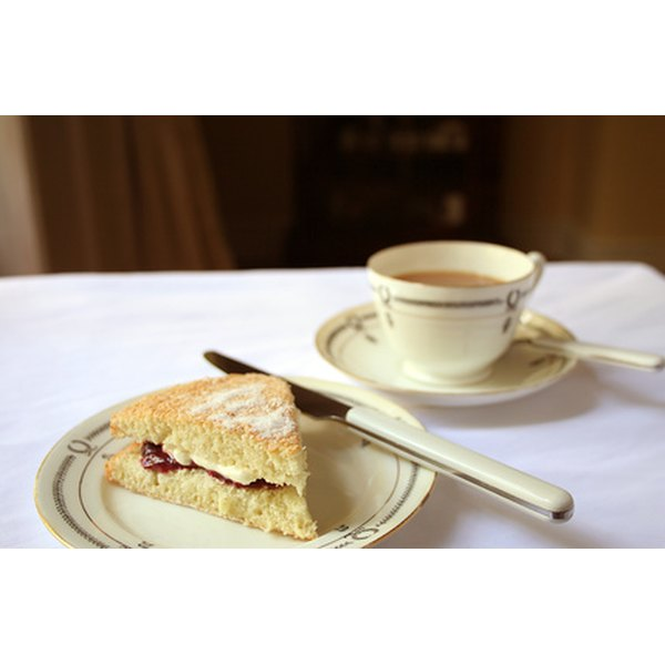 Wedding teas include tea and snacks.