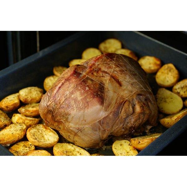 Bone-in roasts cook faster.