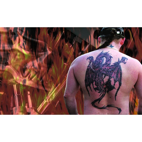 Tattoo Goo helps preserve and enhance your tattoo.