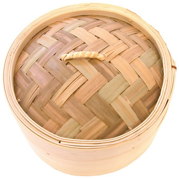The bamboo steamer is a common cooking item among Chinese chefs.