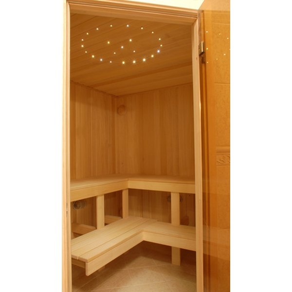 Adding herbs to saunas can help increase the healing benefits.