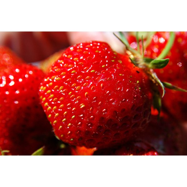 Strawberries are packed with nutrients.