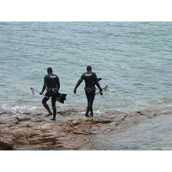 Wet suits are made from neoprene.