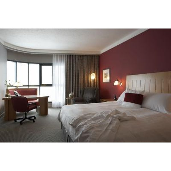 Hotel rooms differ in luxury, price and view.