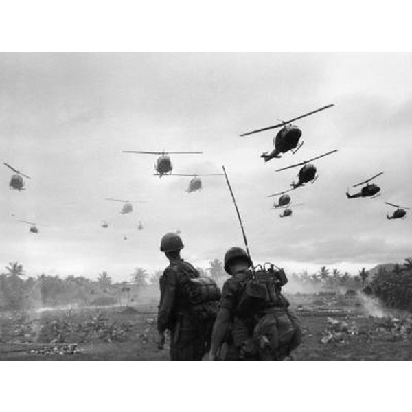 Operation Pershing during an search and destroy mission during the Vietnam War