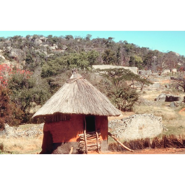 How To Make A Paper African Hut Synonym