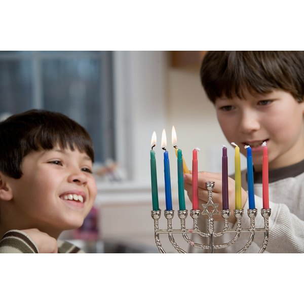 There are a number of ways to help children enjoy and understand Hanukkah.
