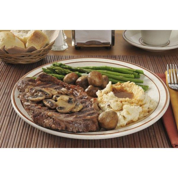 Don't forget the bread -- plain dinner rolls, cornbread or garlic bread.