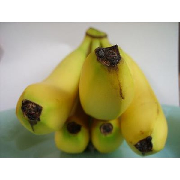 Bananas are a natural source of folate.