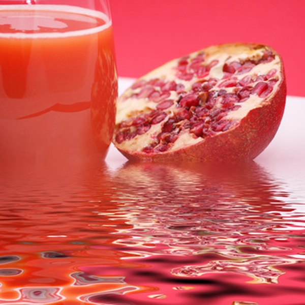 Researchers are studying the possible health benefits of pomegranate juice.