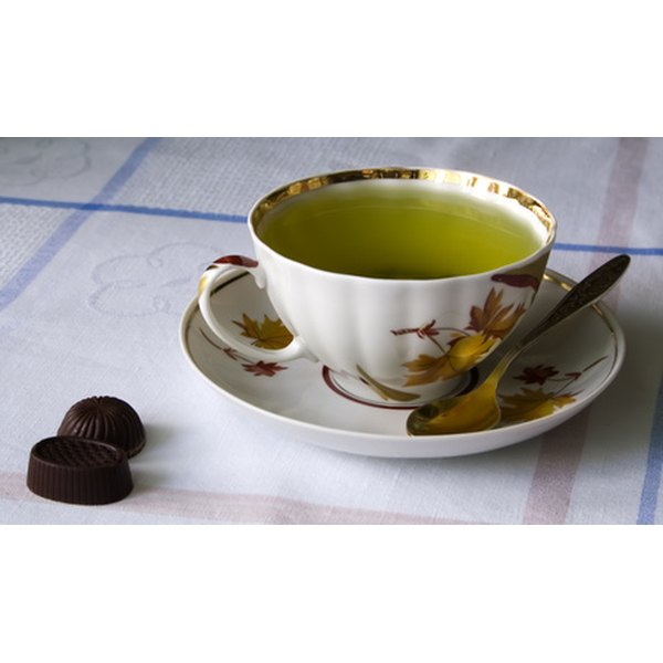 A cup of green tea offers health benefits.