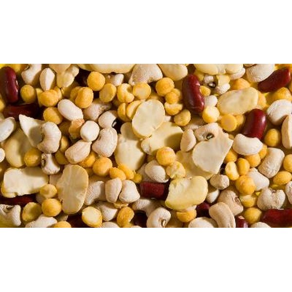 Eating beans, grains, nuts and seeds each day ensures adequate intake of all the essential amino acids.