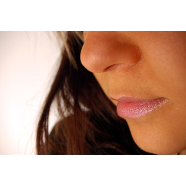 Deep lip scars can cause appearance concerns.
