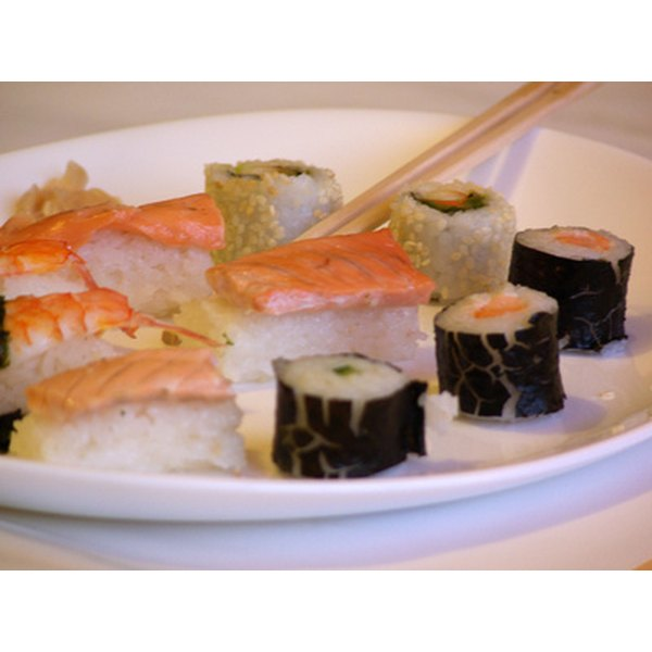 The Japanese diet is rich in fish, which contains a variety of nutrients.
