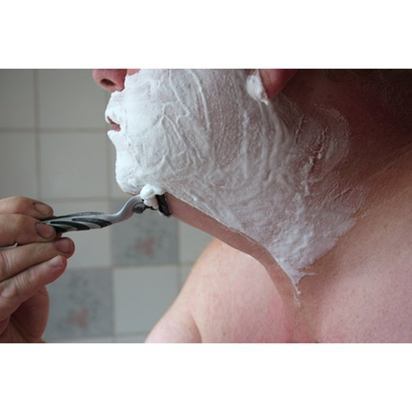 Shaving gel is an essential skin care product for men.