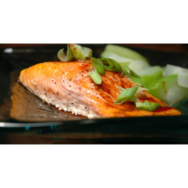 Include two or more weekly servings of heart-healthy fish.
