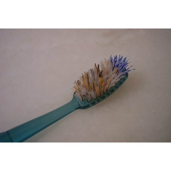 Using a frayed toothbrush can cause receding gums.