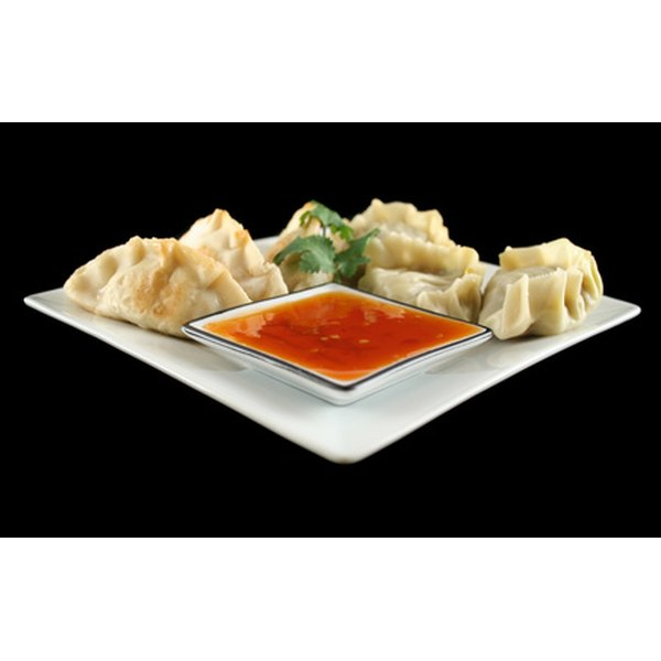Potstickers are a popular appetizer.