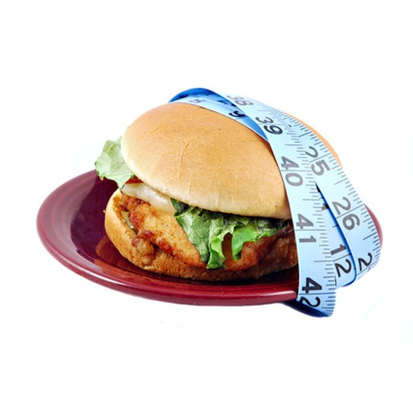 A grilled chicken sandwich can be a healthy meal choice.