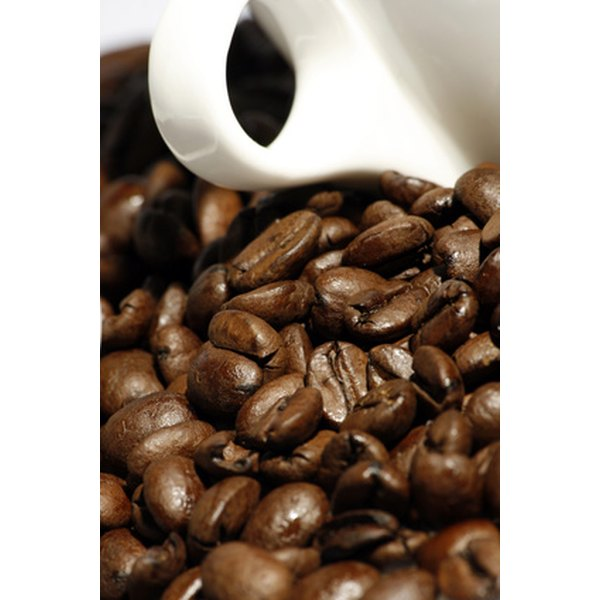 Coffee beans contain caffeine, a natural substance that can affect your brain.