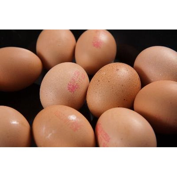 Organic, cage-free eggs have no additives or preservatives.