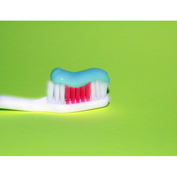 Fluorine forms the compound flouride, which is found in many brands of toothpaste.