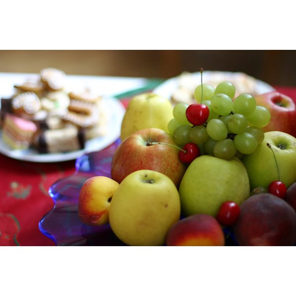 Fresh fruit makes a simple but delicious dessert for large groups.
