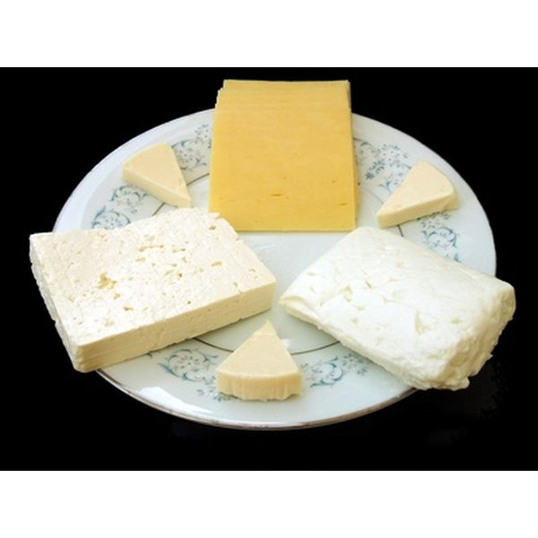 Cheese is a rich source of calcium.