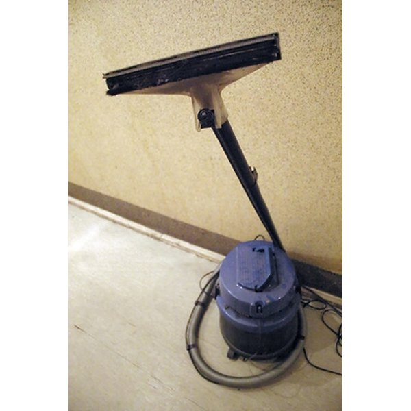 Some vacuums use water filtration.